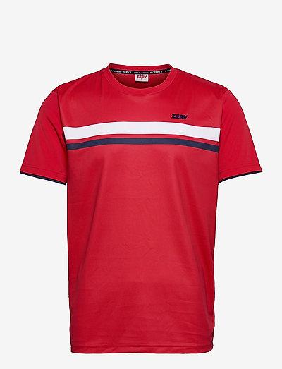ZERV Eagle T-Shirt - t-shirts - red