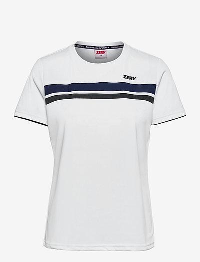 ZERV Raven Womens T-shirt - t-shirts - white