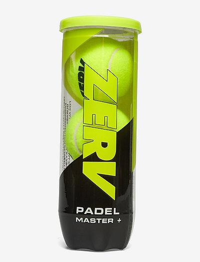 ZERV Padel Master+ - bollar & tillbehör - yellow