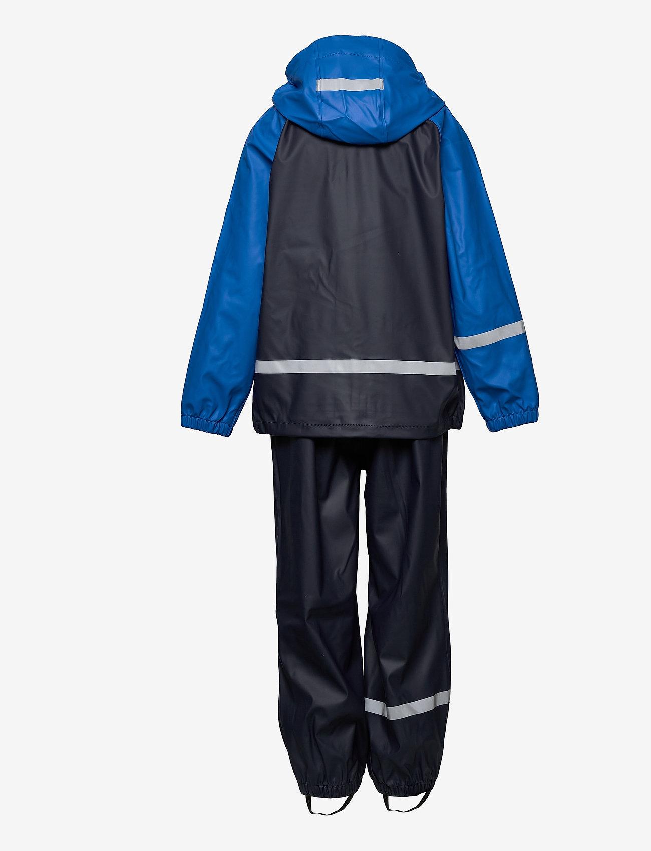 ZigZag - Gilbo PU Set W-PRO 5000 - sets & suits - navy blazer - 1