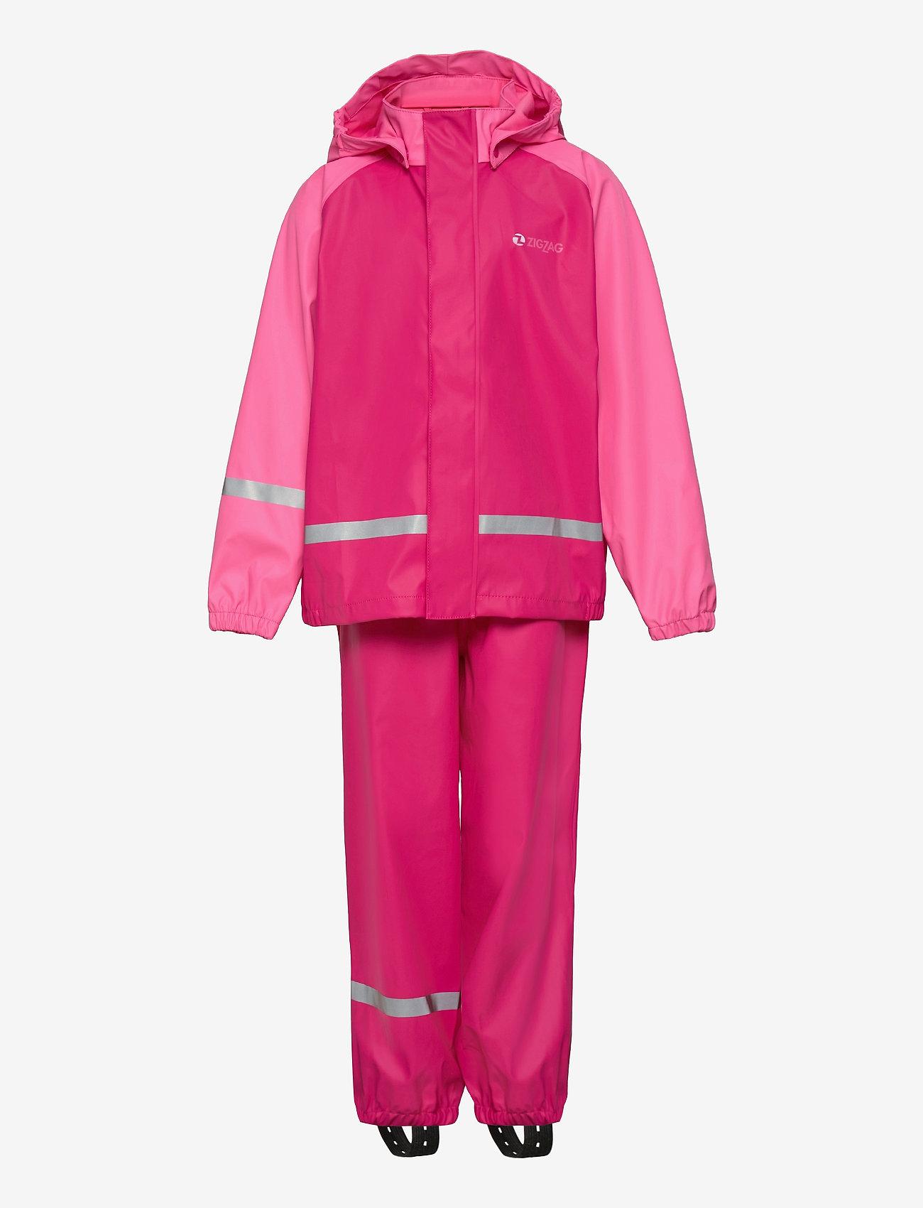 ZigZag - Gilbo PU Set W-PRO 5000 - sets & suits - pink peacock - 0