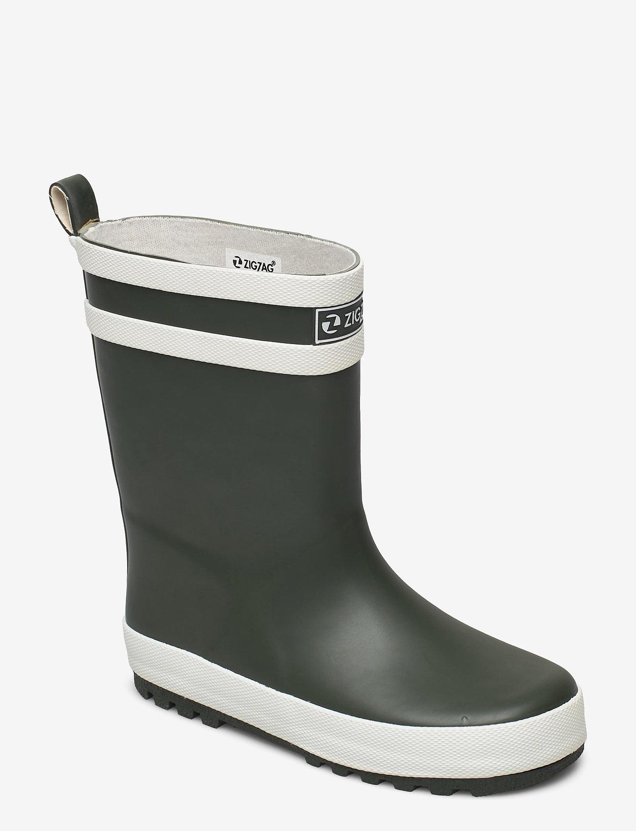 ZigZag - Saming Kids Rubber Boot - les bottes non doublées en caoutchouc - forest night - 0