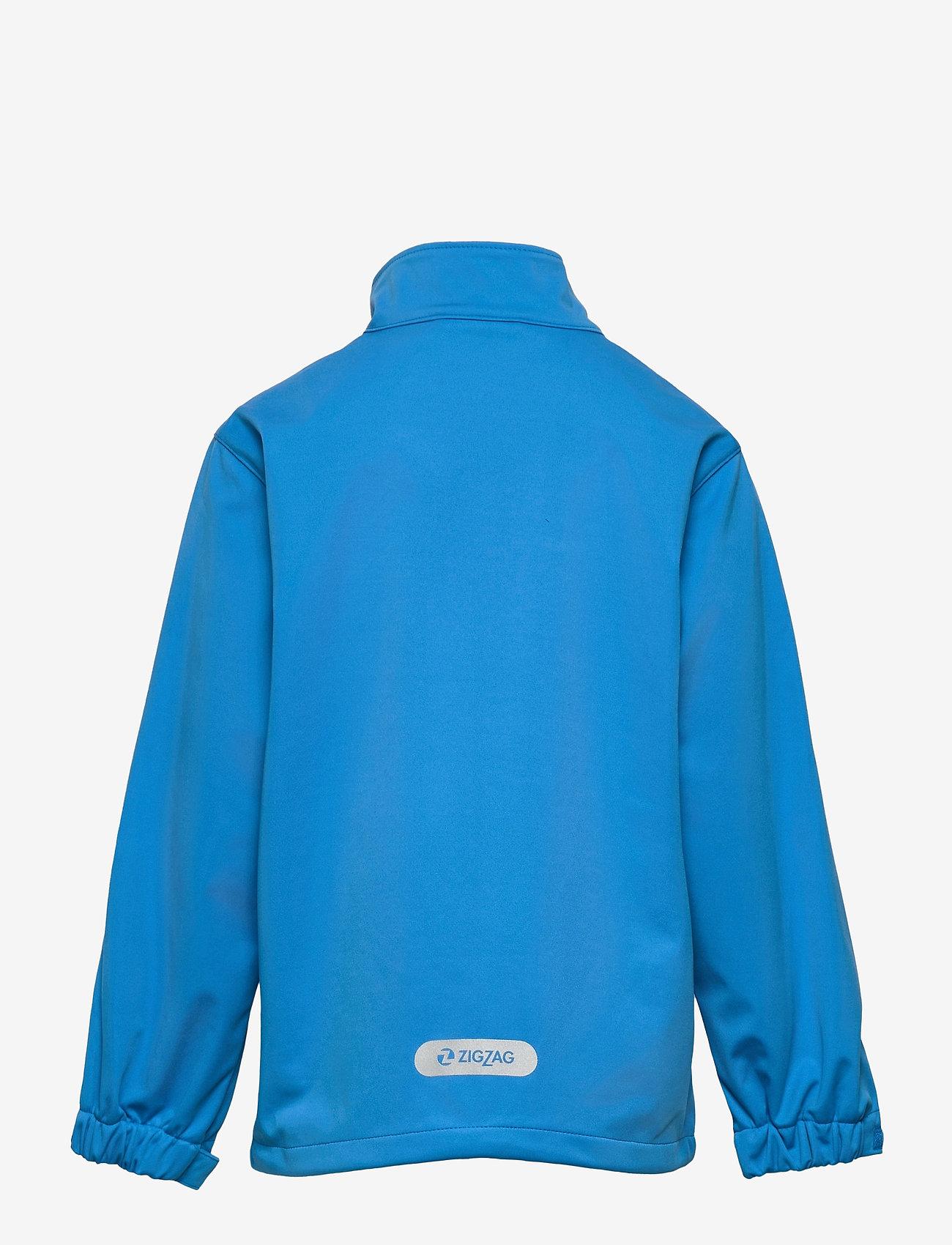 ZigZag - Anakin Softshell Jacket - softshell jassen - french blue - 1