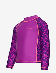 ZigZag - Ebre UVA L/S Swim Tee - koszulki - purple flower - 2