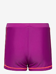 ZigZag - Logone UVA Girls Swim Shorts - badehosen - purple flower - 1