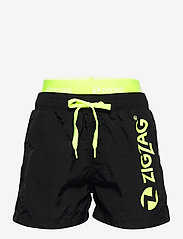 ZigZag - Fos Boys Boardshorts - badehosen - black - 0