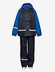 ZigZag - Gilbo PU Set W-PRO 5000 - sets & suits - navy blazer - 0