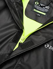 ZigZag - Rieti PU Rain Set - sets & suits - black - 4