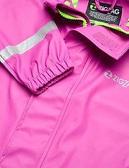 ZigZag - Rieti PU Rain Set - sets & suits - pink - 4