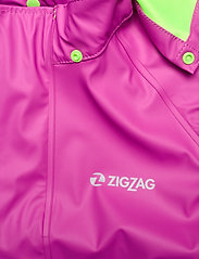 ZigZag - Rieti PU Rain Set - sets & suits - pink - 6