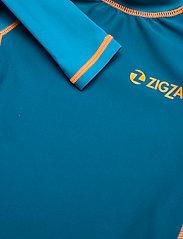 ZigZag - Saltash UVA L/S Swim Tee - koszulki - celestial - 2