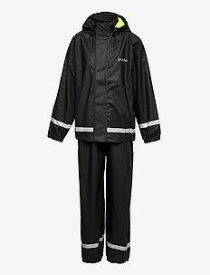 Rieti PU Rain Set - sets & suits - black