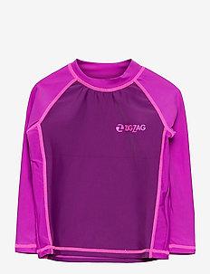 Saltash UVA L/S Swim Tee - uv tops - purple