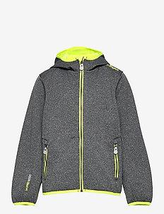Evansville Melange Softshell Jacket W-PRO 8.000 - softshell jacket - safety yellow