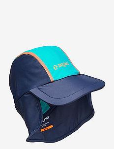 Strangford UVA Suncap - sun hats - navy