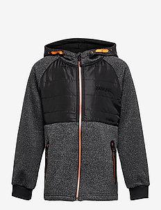Jeppe Jacket - softshell jacket - dark grey melange