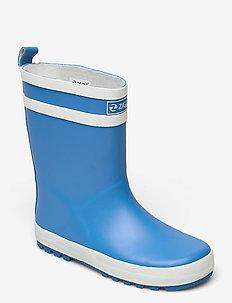 Saming Kids Rubber Boot - les bottes non doublées en caoutchouc - french blue