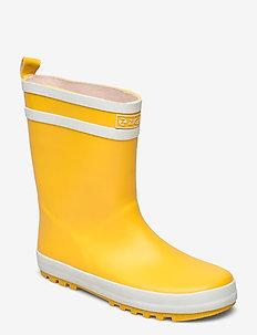 Saming Kids Rubber Boot - rubberlaarzen zonder voering - golden rod