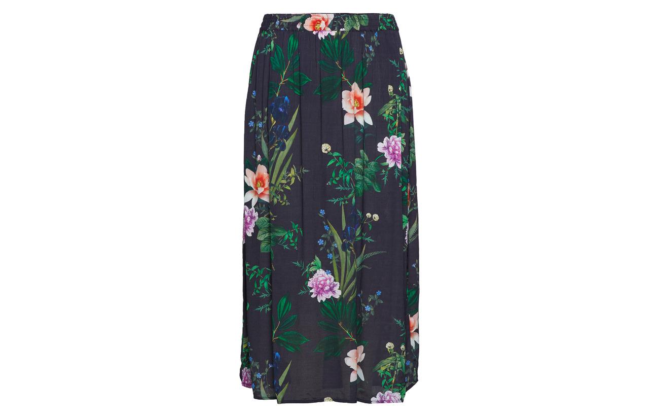 100 Night Xane Zizzi Viscose Sky Skirt Flower Long YRxnq8