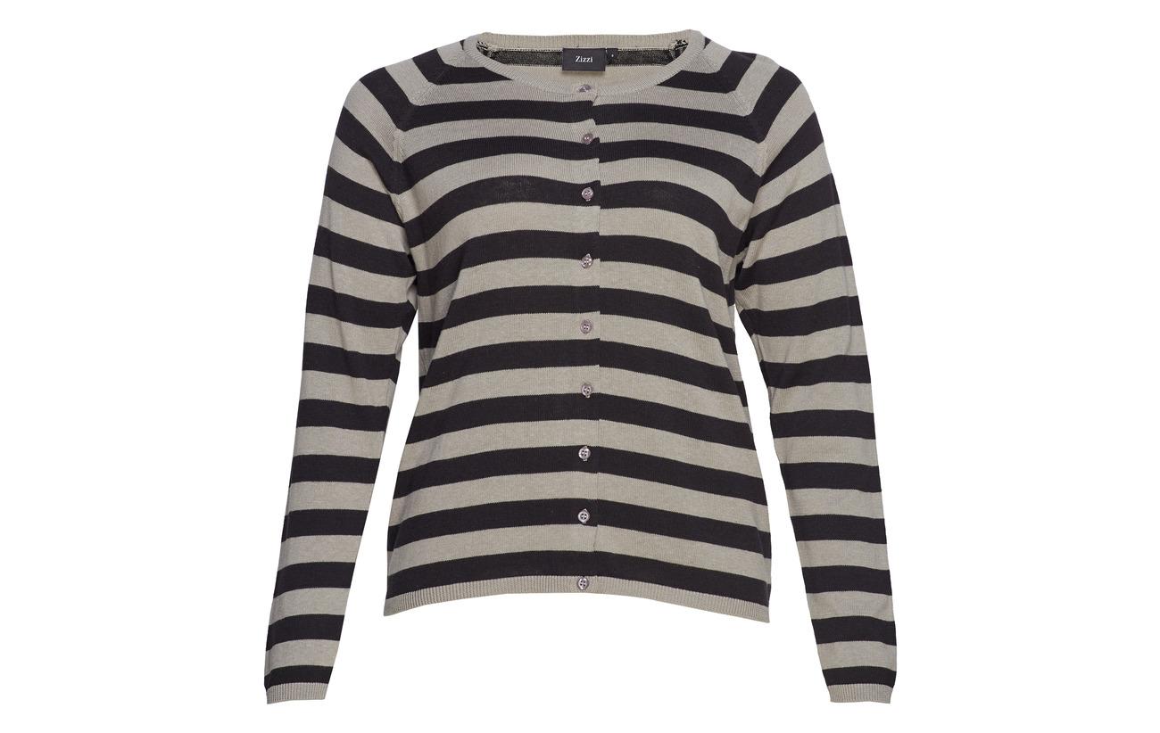 L 50 s Grey Coton Cardigan Msmilla Acrylique Zizzi p5qwPOHx