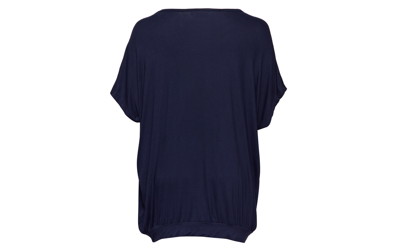 s 95 Viscose Blue Elastane Top 5 Zizzi Dark S Boo Mmacy PqHE8H