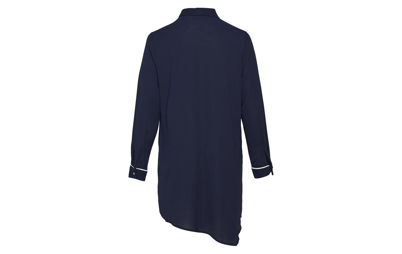 Dress Polyester Zizzi Tana s Blue L Elastane 97 Dark Mmya 3 vPIFxPqw