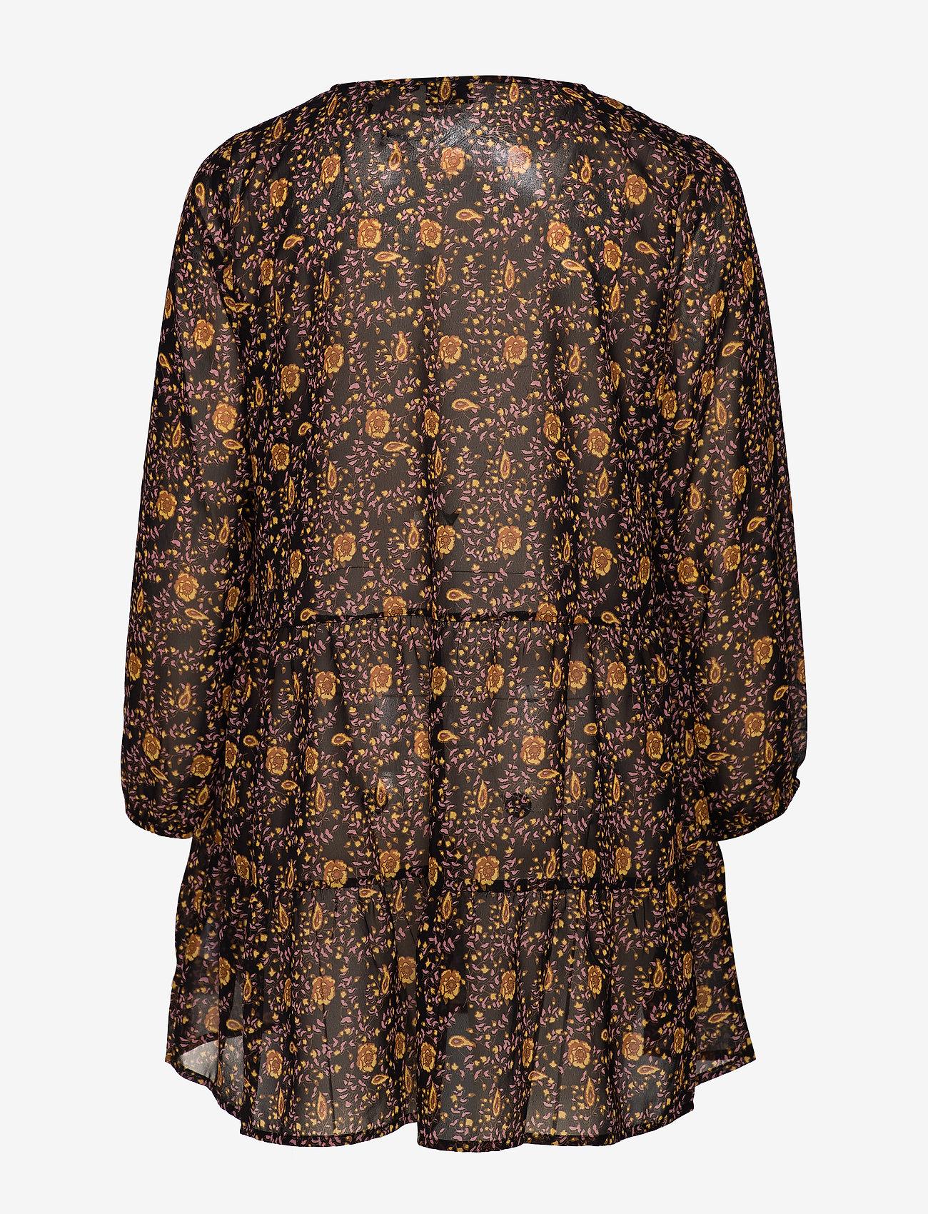 Zizzi EMARLEY, L/S, TUNIC - Bluzki & Koszule BLACK - Kobiety Odzież.