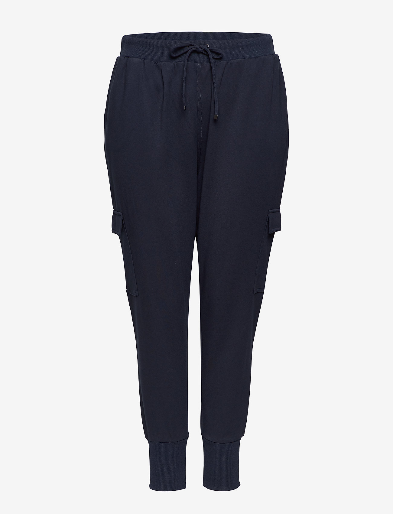 Zizzi - JMADDISON, CROPPED, PANT - verryttelyhousut - dark blue - 0
