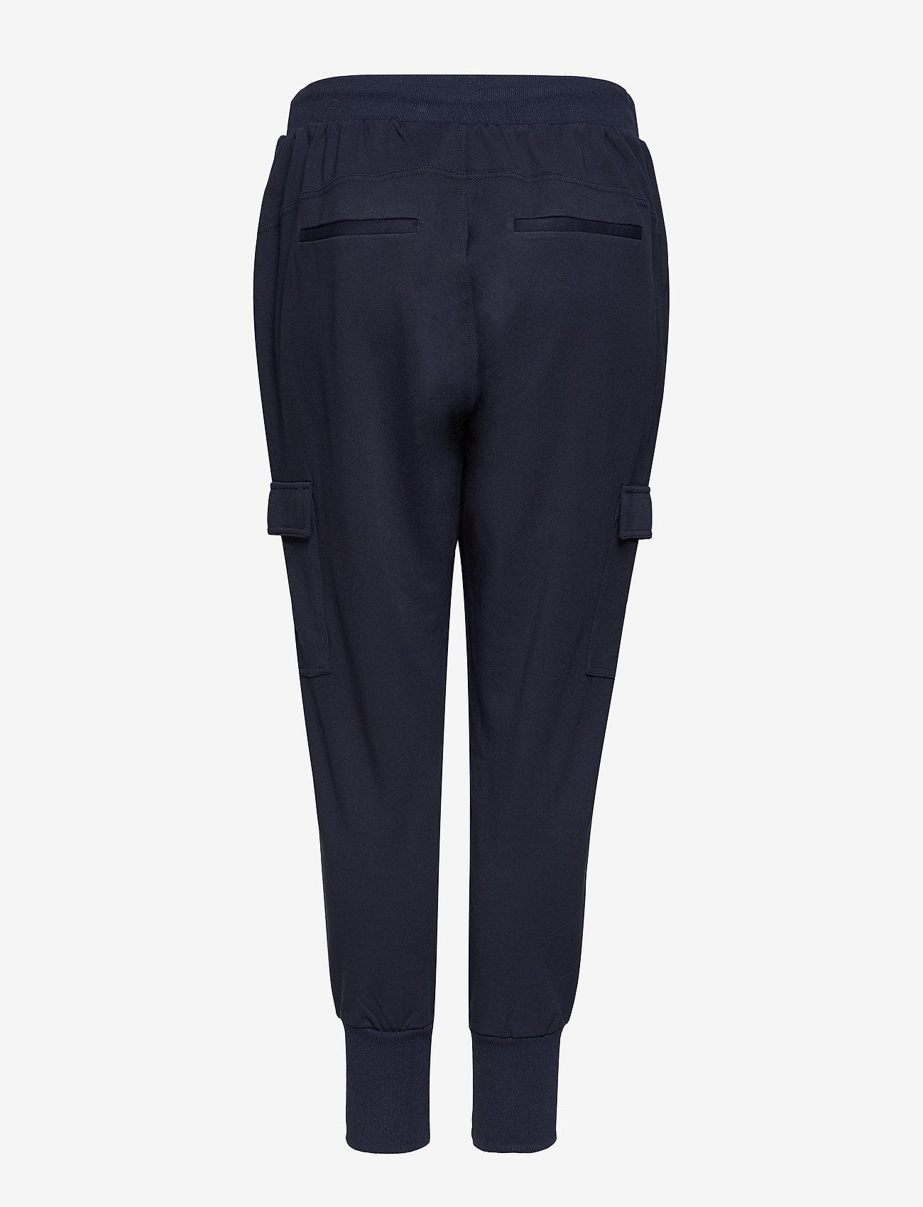 Zizzi - JMADDISON, CROPPED, PANT - verryttelyhousut - dark blue - 1