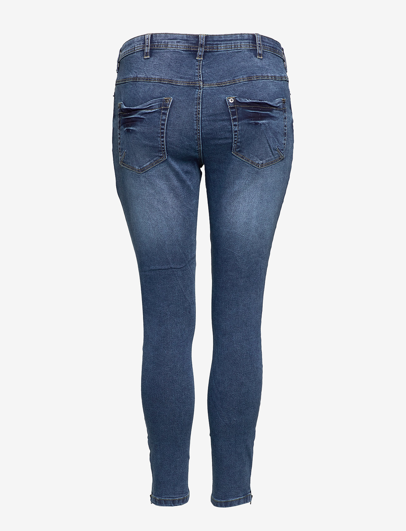 Jeans, Cropped, Amy (Blue) - Zizzi iY3YFy