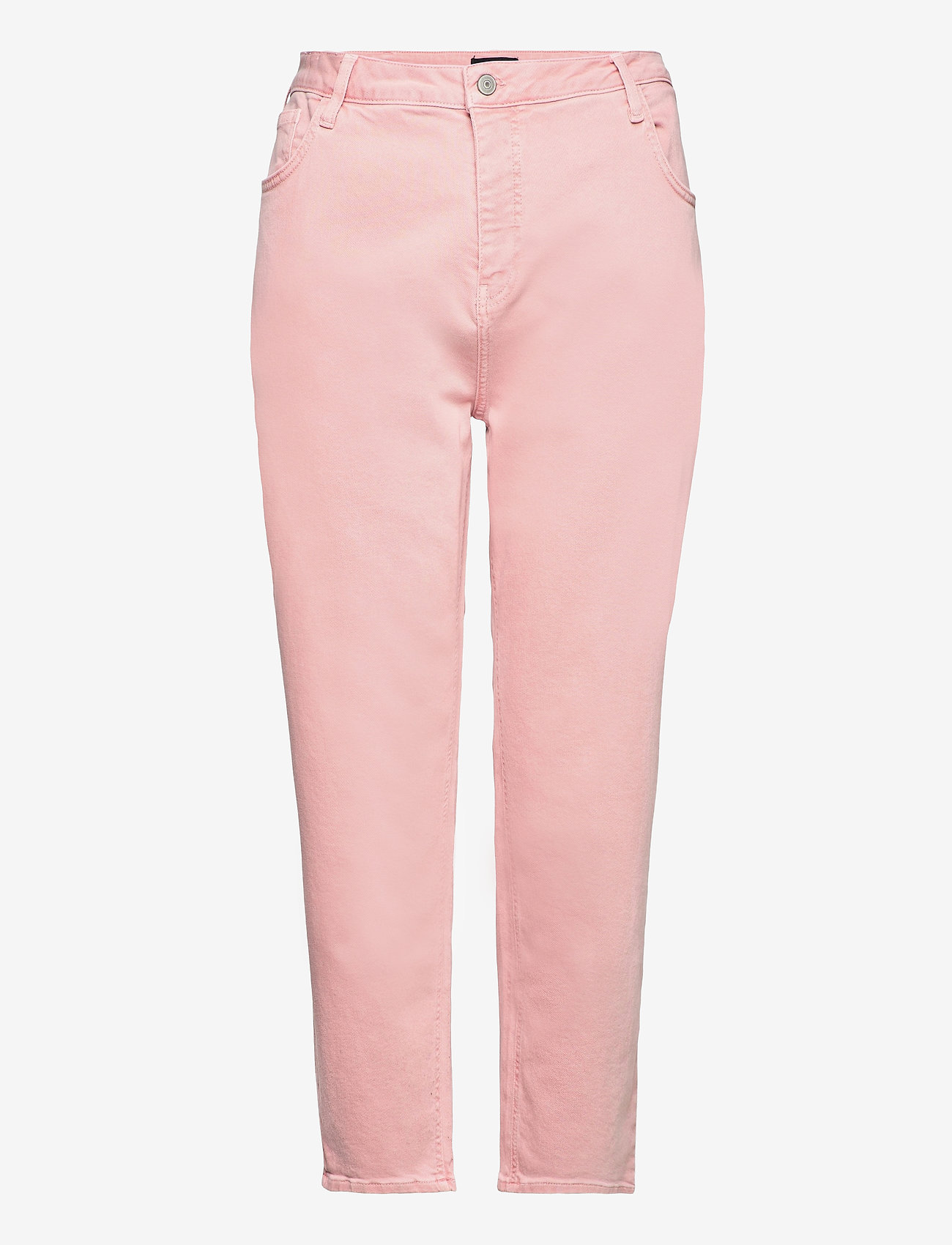 Zizzi - Mom Jeans Plus Size High Waist - mom-jeans - rose - 0