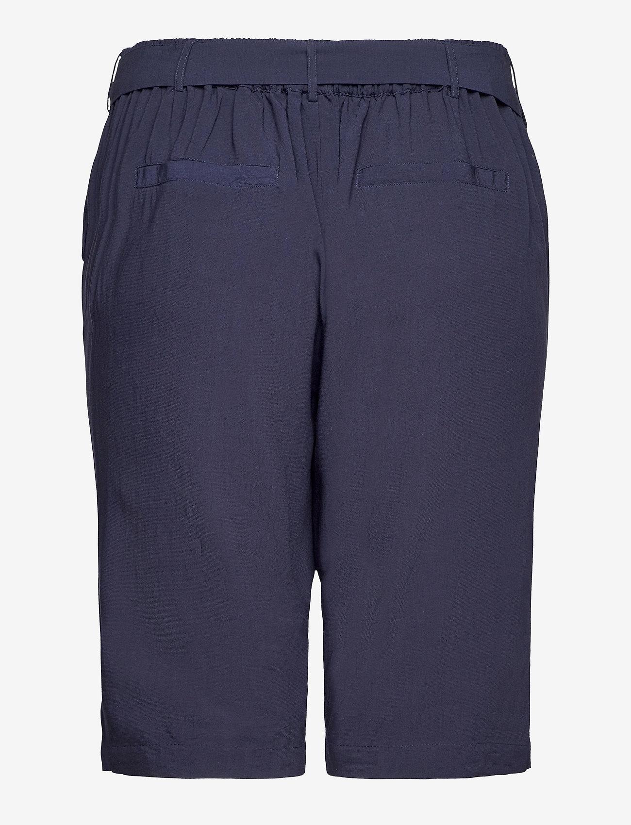 Zizzi - MABHI, SHORTS - bermudas - dark blue - 1