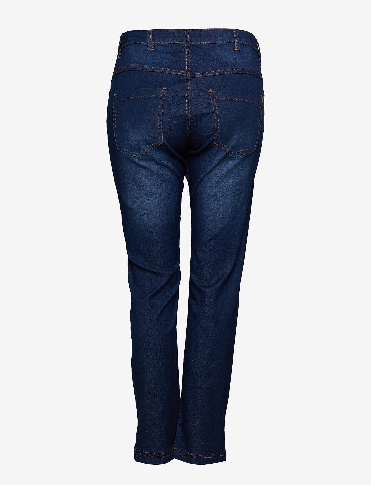 Zizzi Jeans, Long, EMILY, slim fit - Dżinsy BLUE - Kobiety Odzież.
