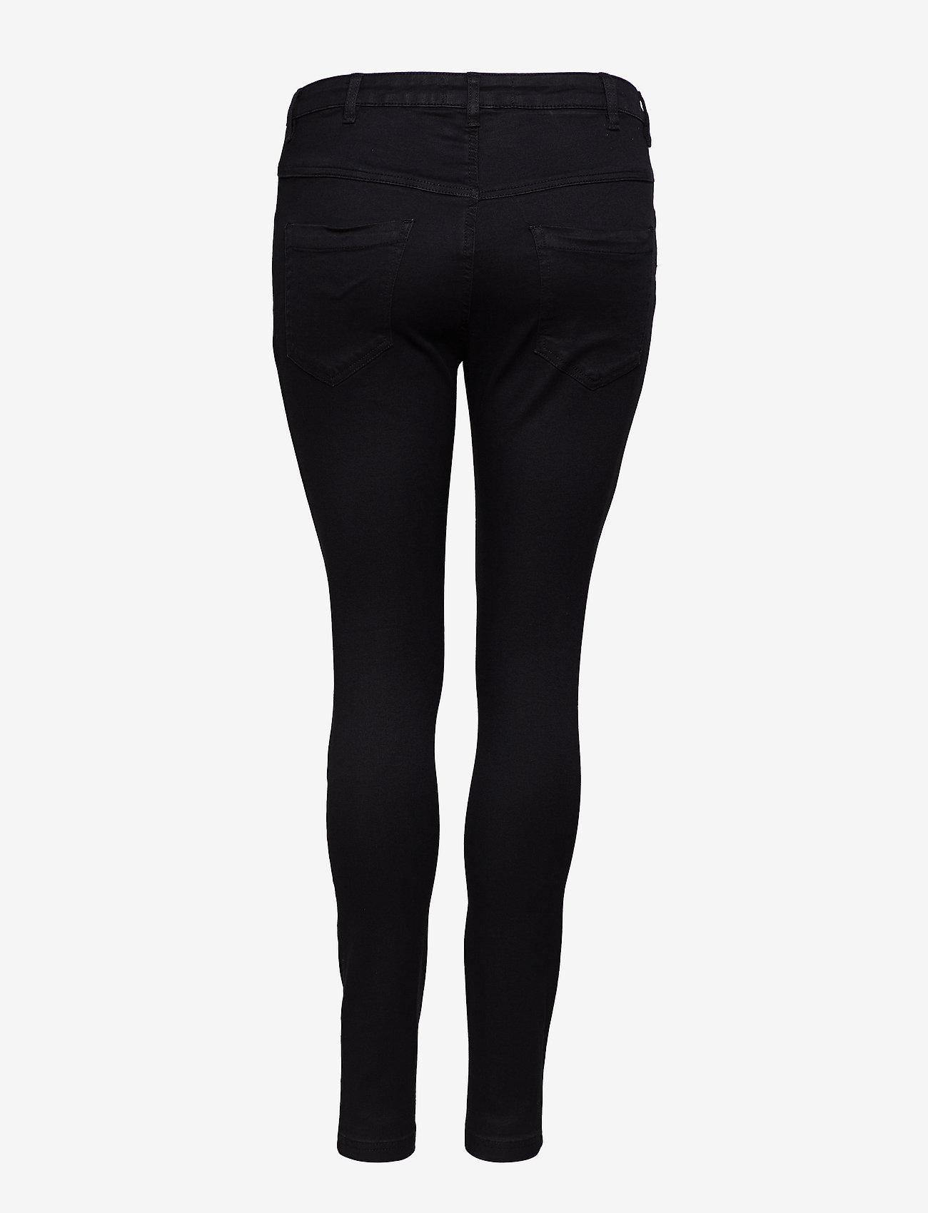 Zizzi Jeans, long, AMY, super slim - Jeans BLACK - Damen Kleidung