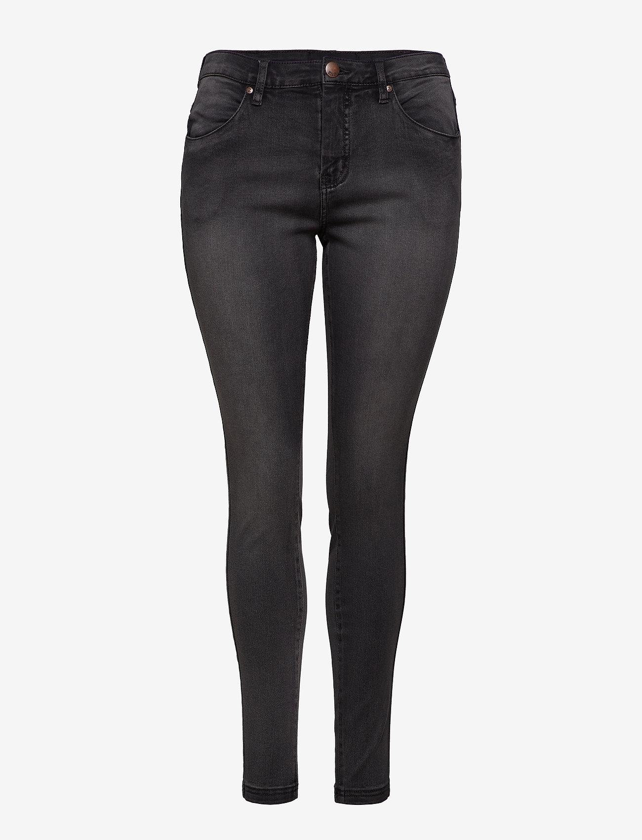 Zizzi Jeans, long, AMY, super slim - Jeans DARK GREY - Damen Kleidung