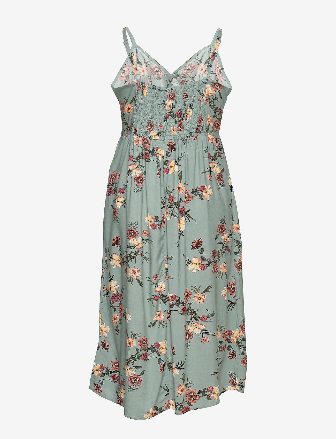 Zizzi Vviga, S/l, Maxi Button Dress - Dresses