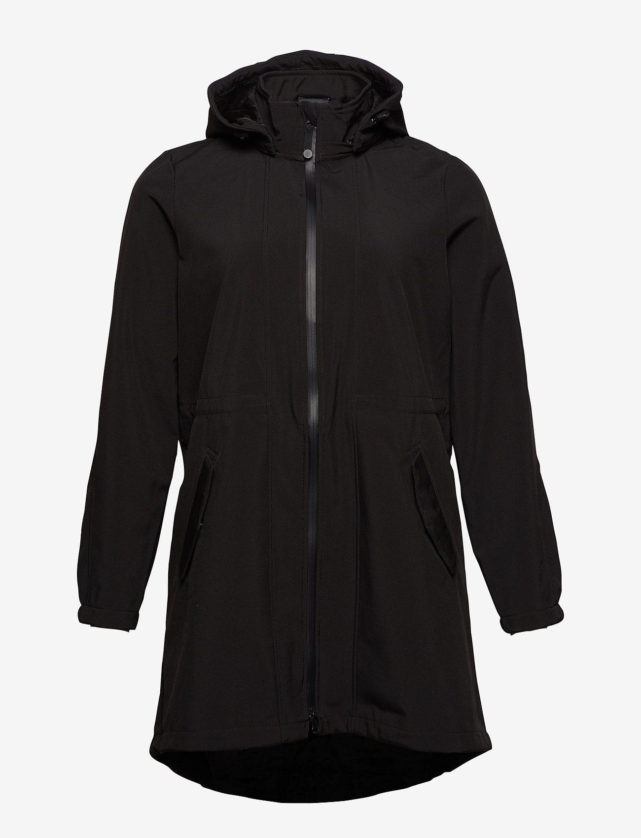Zizzi ZAspen, Soft shell jacket - Jacken & Mäntel BLACK - Damen Kleidung