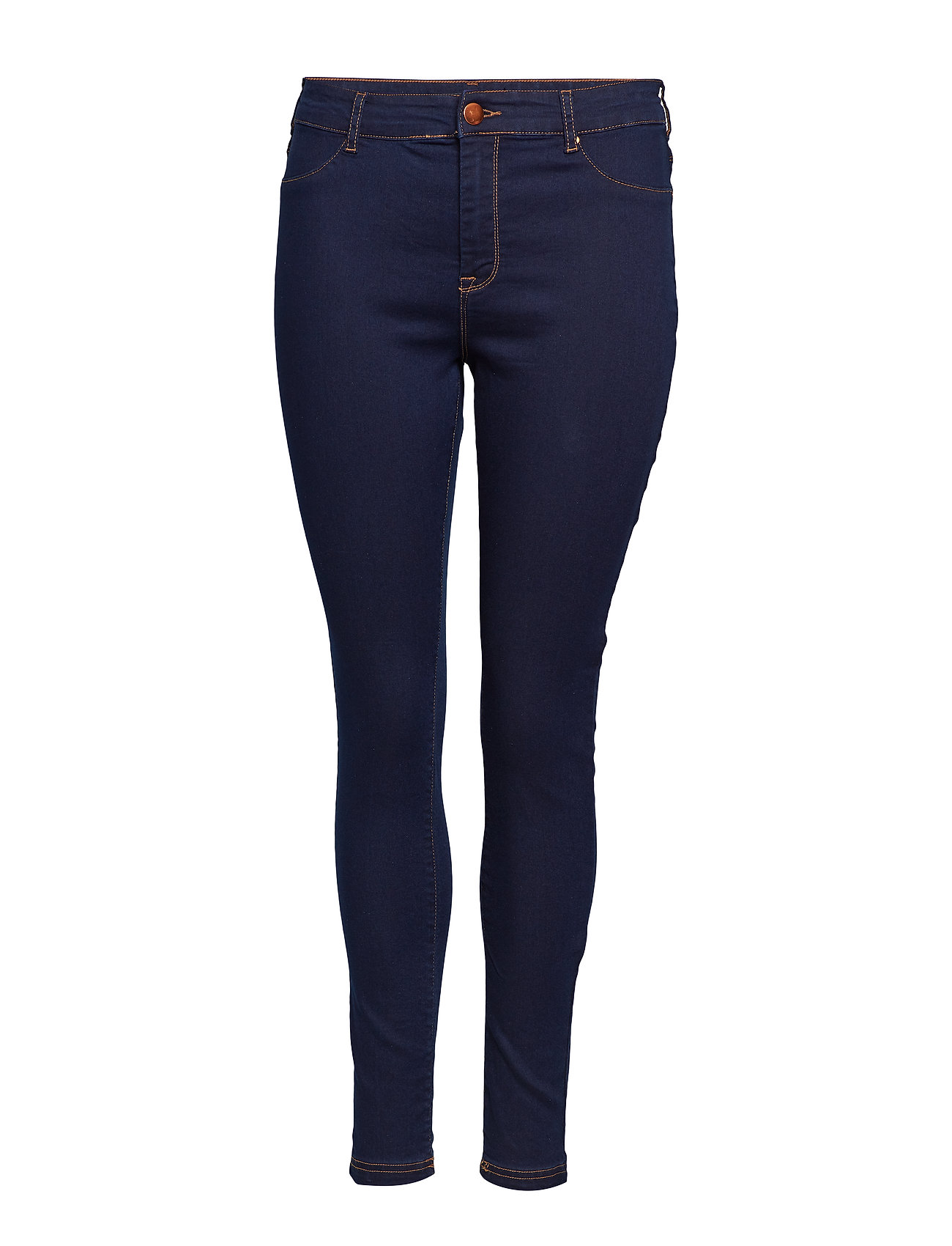 Zizzi JANNA, LONG, JEGGING - DARK BLUE