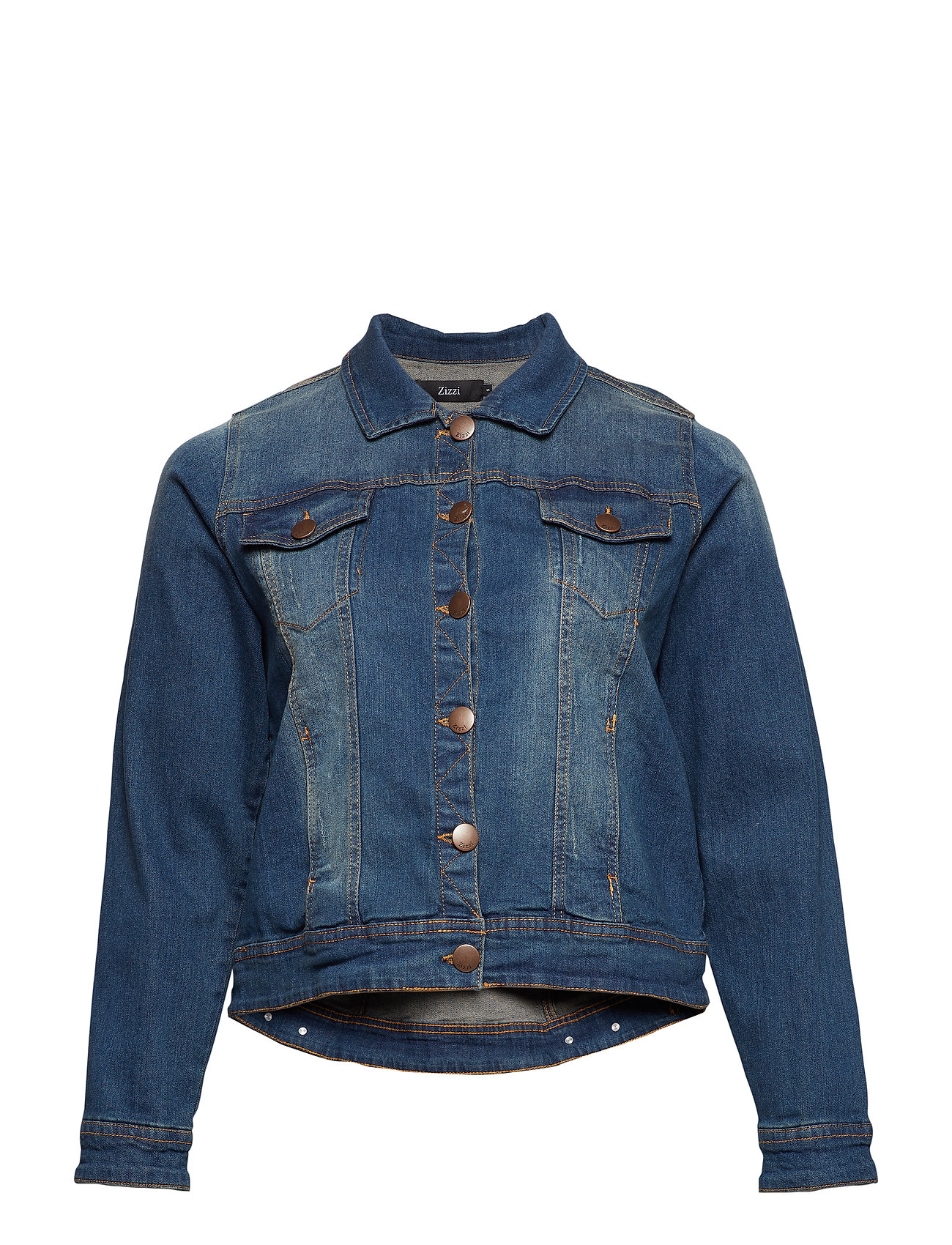 Zizzi Jacket, Long Sleeve - BLUE