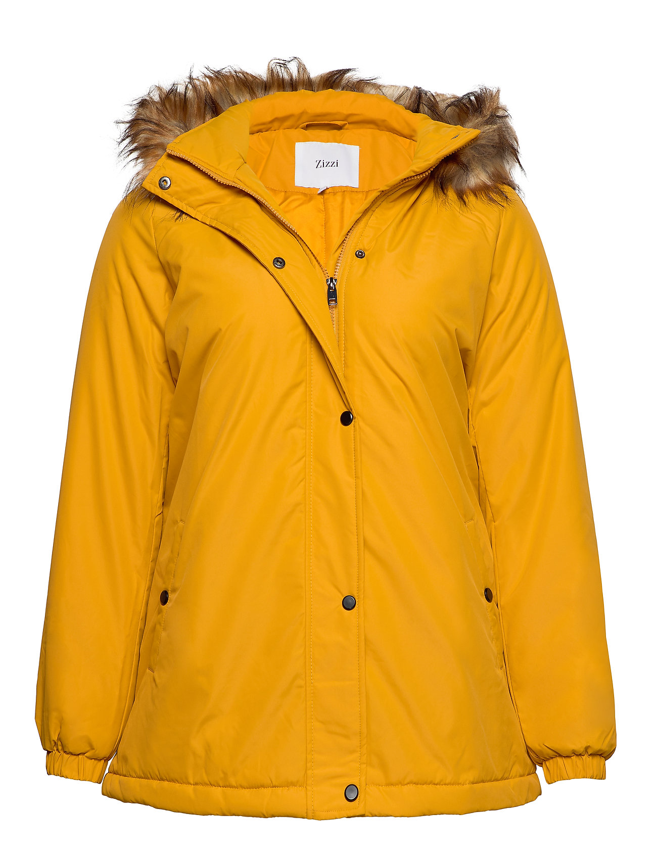 Zizzi MANNA, L/S, COAT - YELLOW