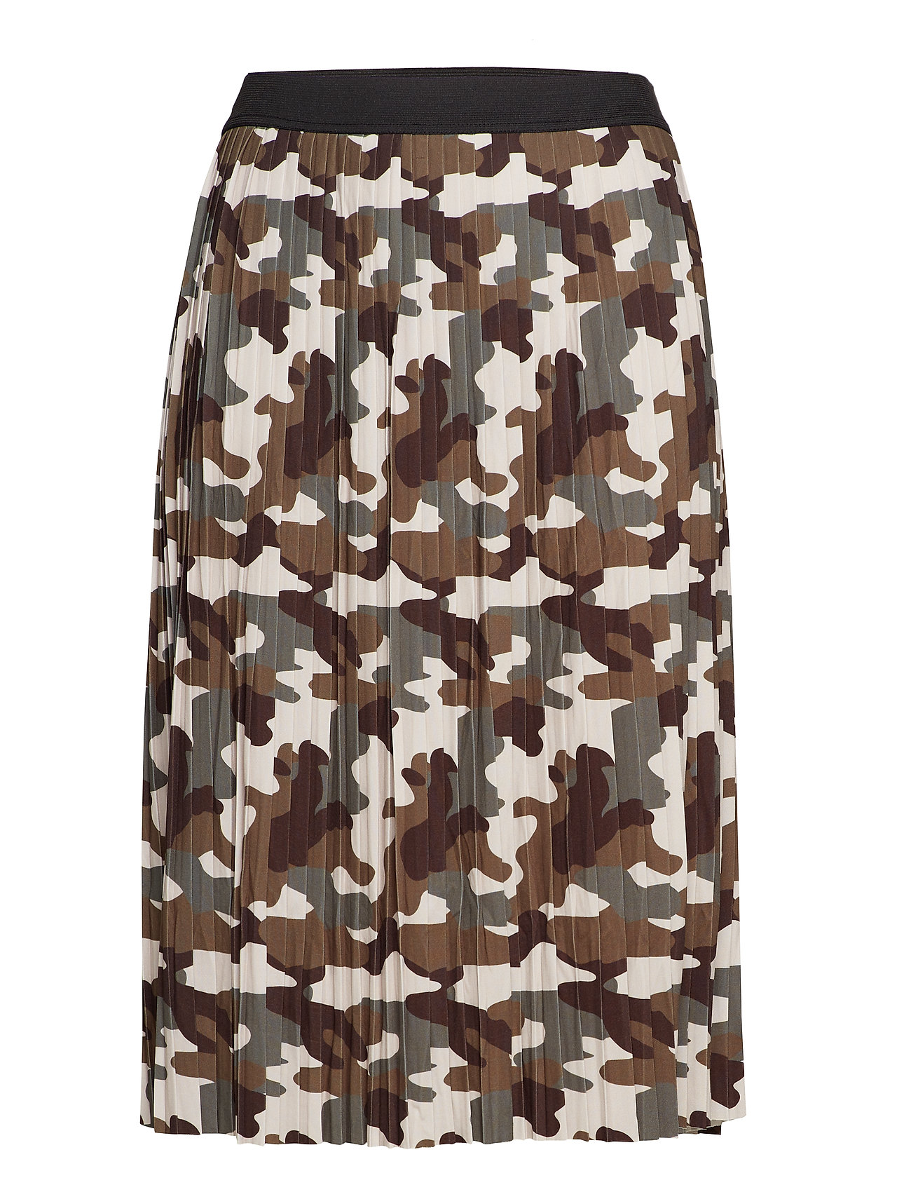 Zizzi MMASS, 3/4, SKIRT - GREEN