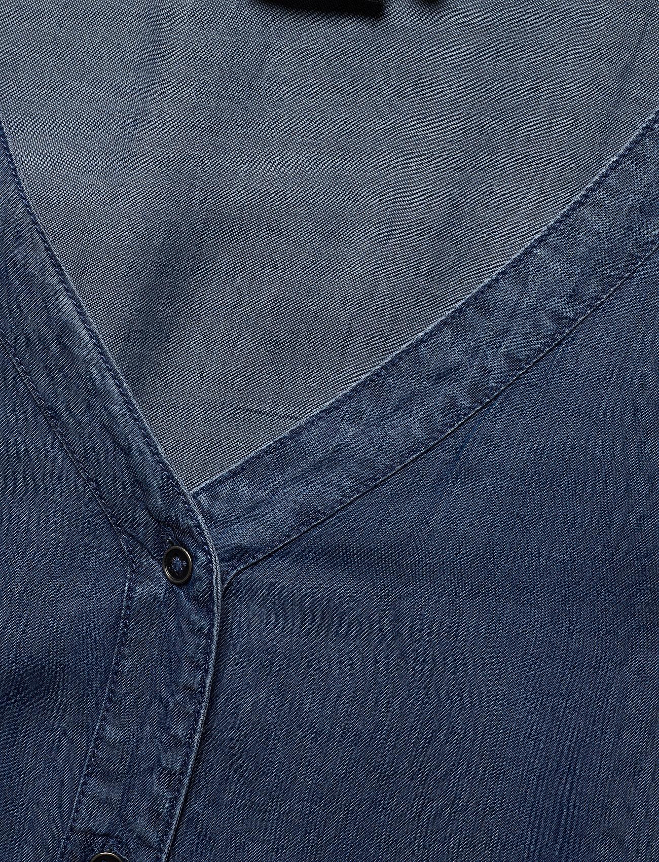 Zizzi Misallas, S/s, Dress - Klänningar Blue
