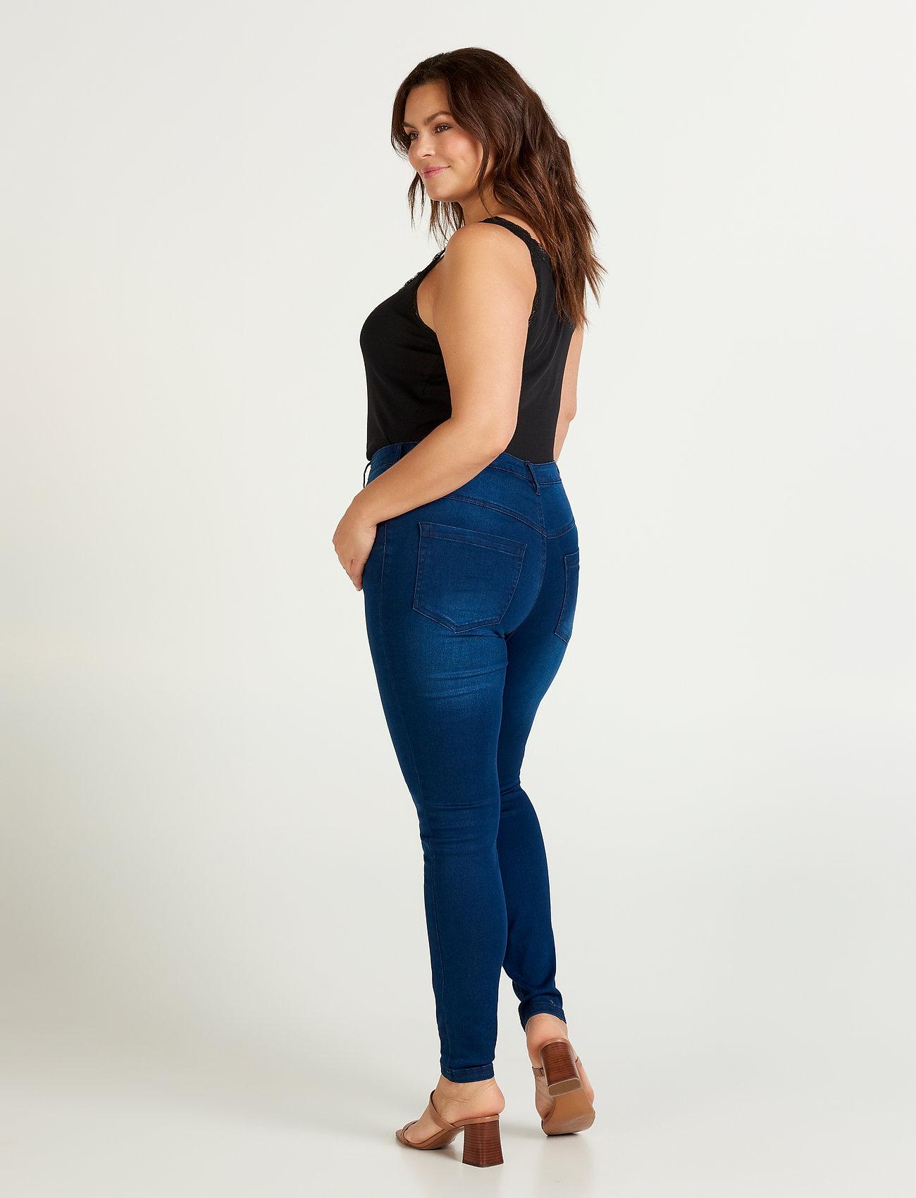 Zizzi Jeans, long, AMY, super slim - Jeans BLUE - Damen Kleidung