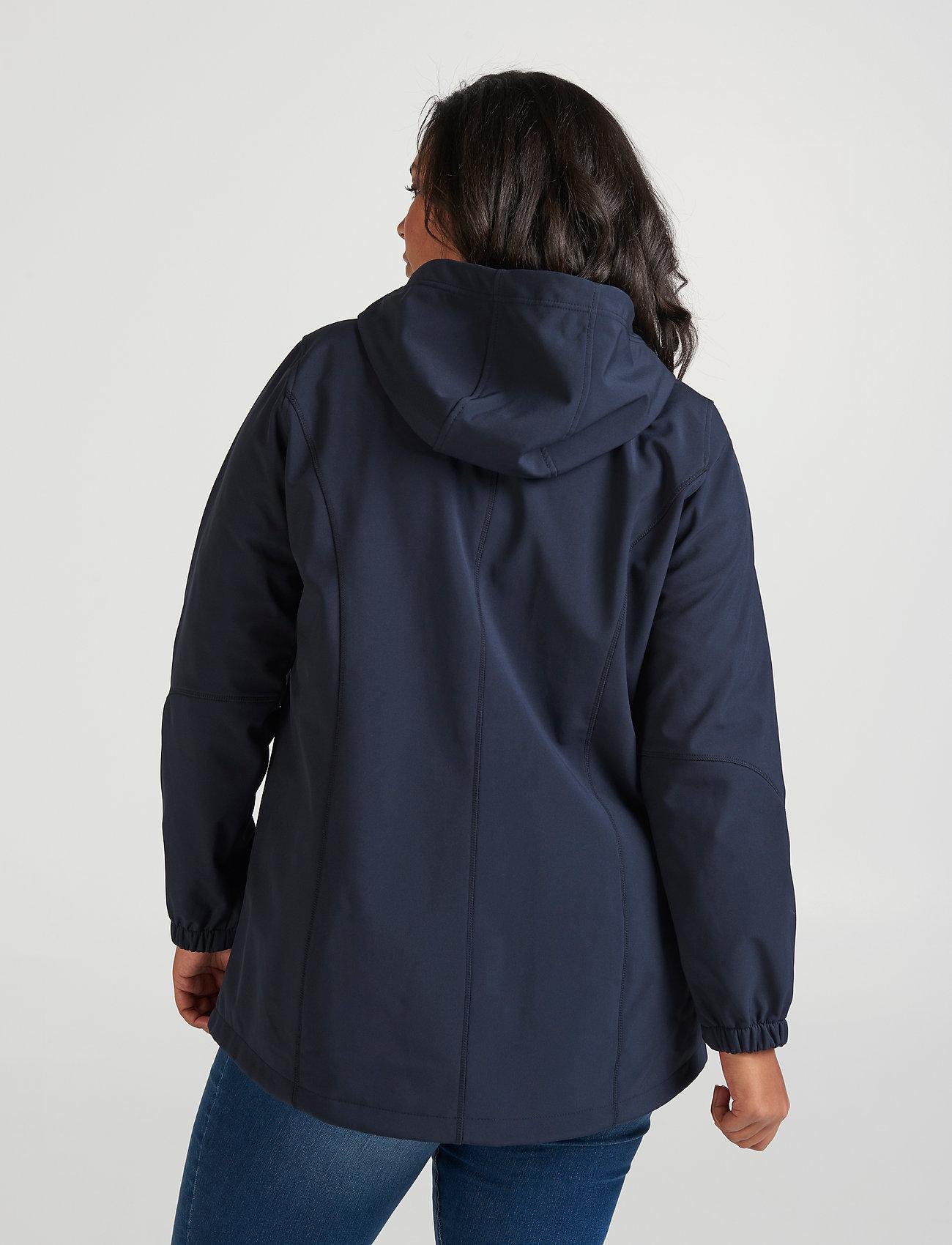 Zizzi Softshell - Jacken & Mäntel DARK BLUE - Damen Kleidung