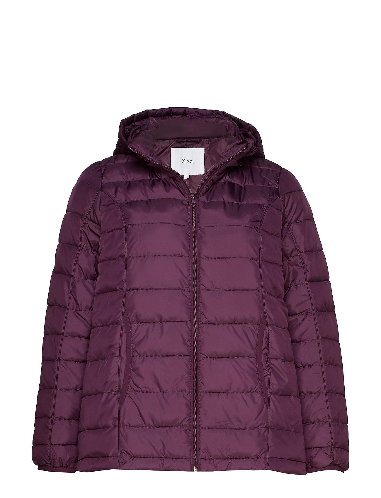 Zizzi Jacket, long sleeve - PURPLE