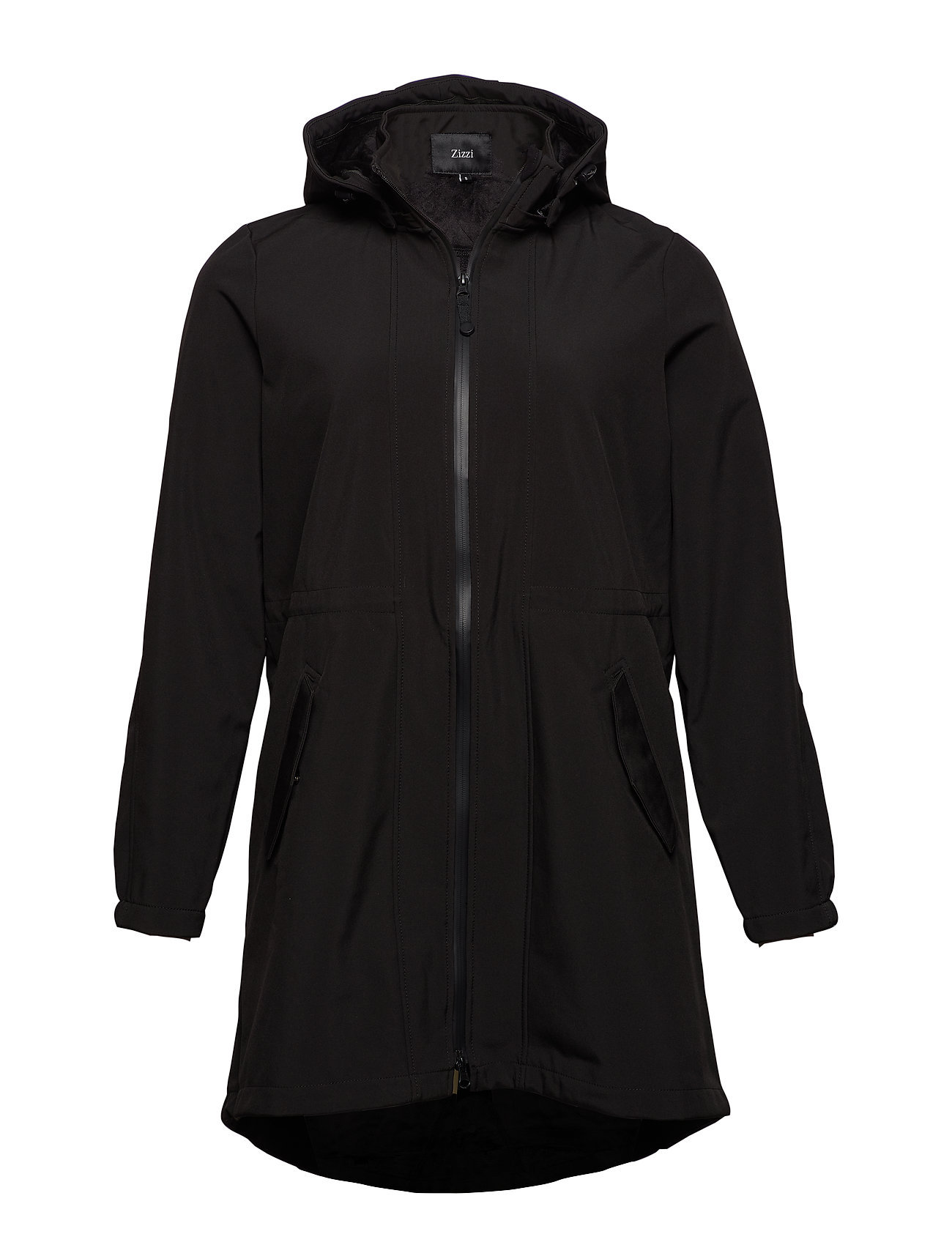 Zizzi ZAspen, Soft shell jacket - BLACK