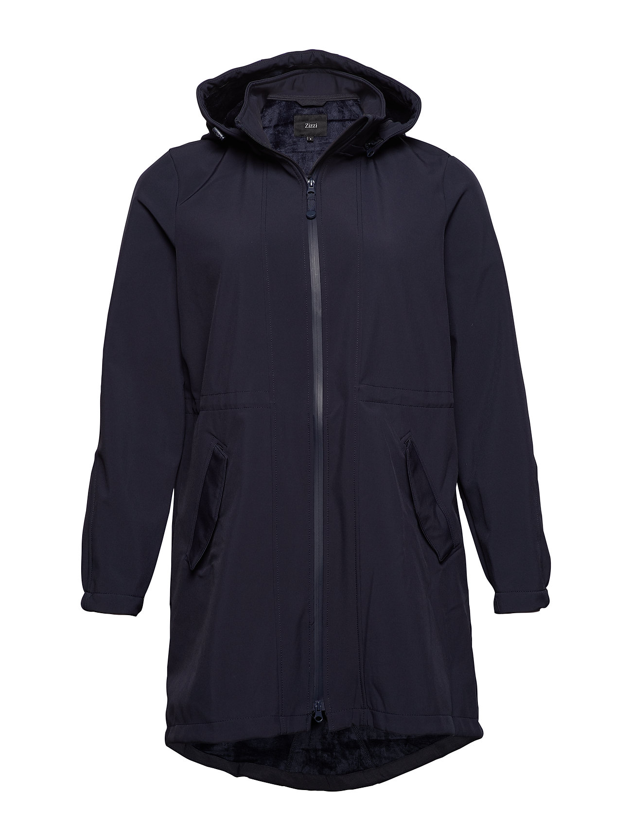 Zizzi ZAspen, Soft shell jacket - BLUE