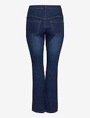 Zizzi - Jeans Bootcut Plus Size High Waist Flared - bootcut jeans - dark blue - 1