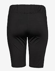 Zizzi - Shorts Plus Size Stretch Elastic Waist - cycling shorts - black - 1