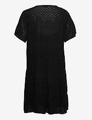 Zizzi - MANNE, S/S, KNEE DRESS - sommerkjoler - black - 1
